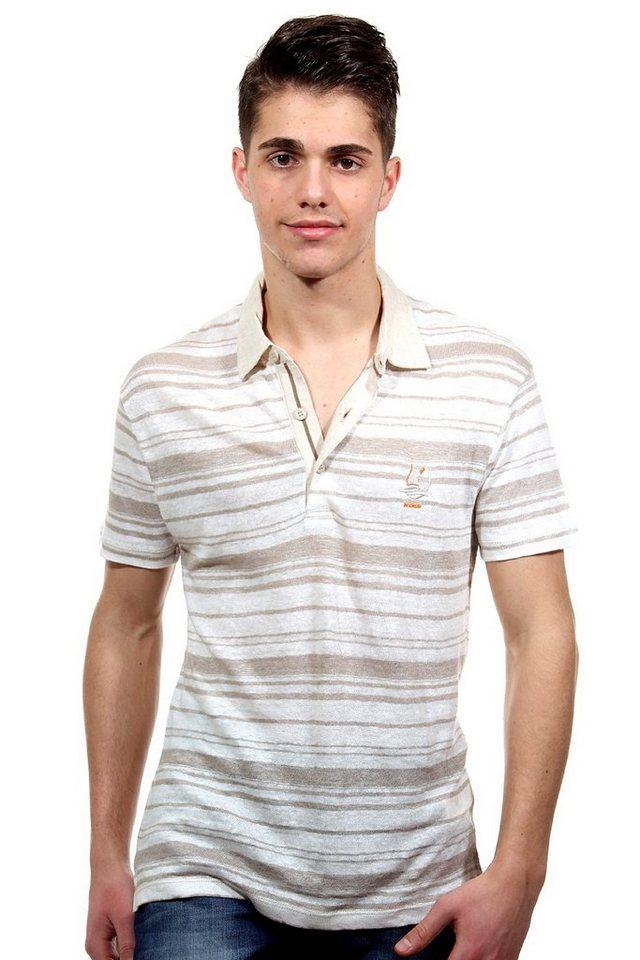 MCL Poloshirt regular fit in braun