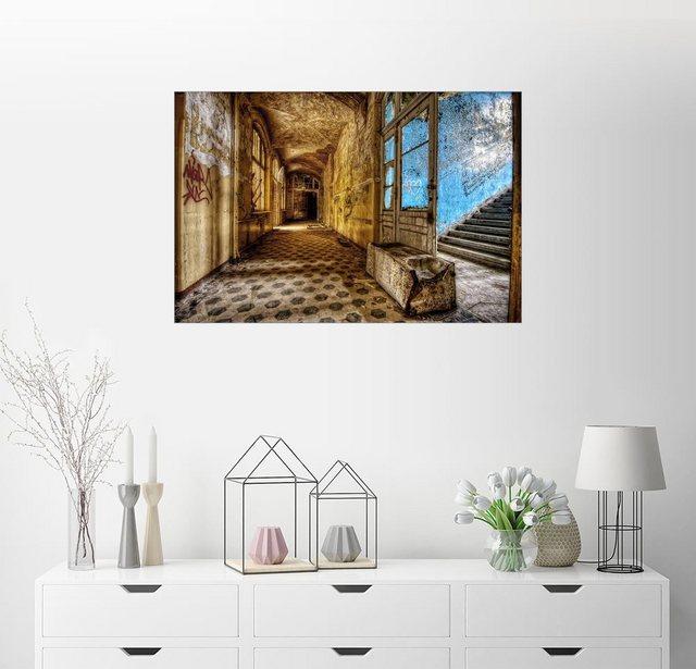 Posterlounge Wandbild| Acrylglasbild Beelitz-Heilstätte | Dekoration > Bilder und Rahmen > Bilder | Posterlounge
