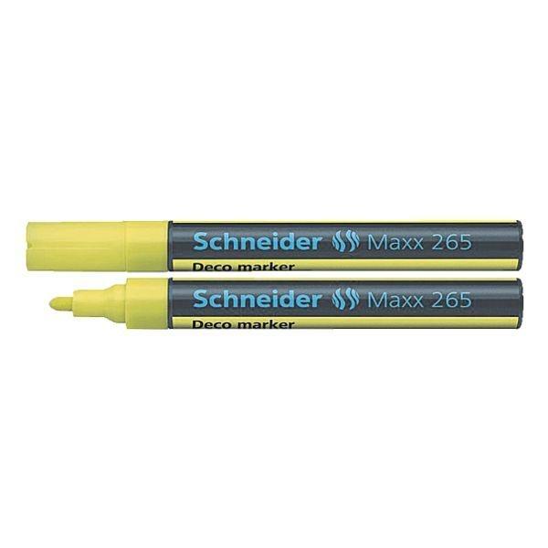 Schneider Kreidemarker »Maxx 265« in gelb