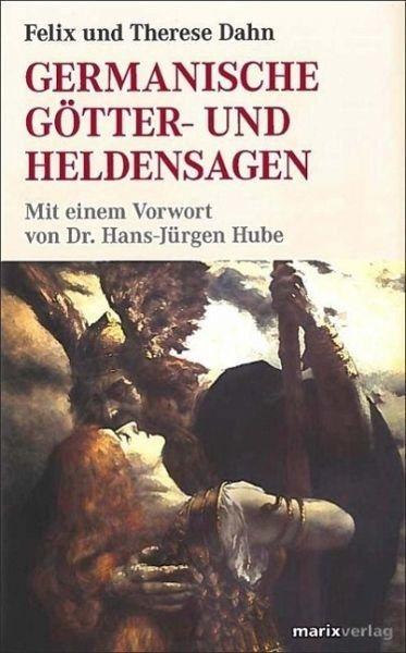 Gebundenes Buch »Germanische Götter- und Heldensagen«