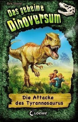 Gebundenes Buch »Die Attacke des Tyrannosaurus / Das geheime...«