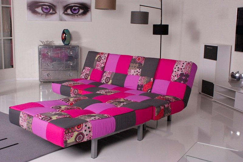 kasper wohndesign relax ecksofa selina bettsofa stoff. Black Bedroom Furniture Sets. Home Design Ideas