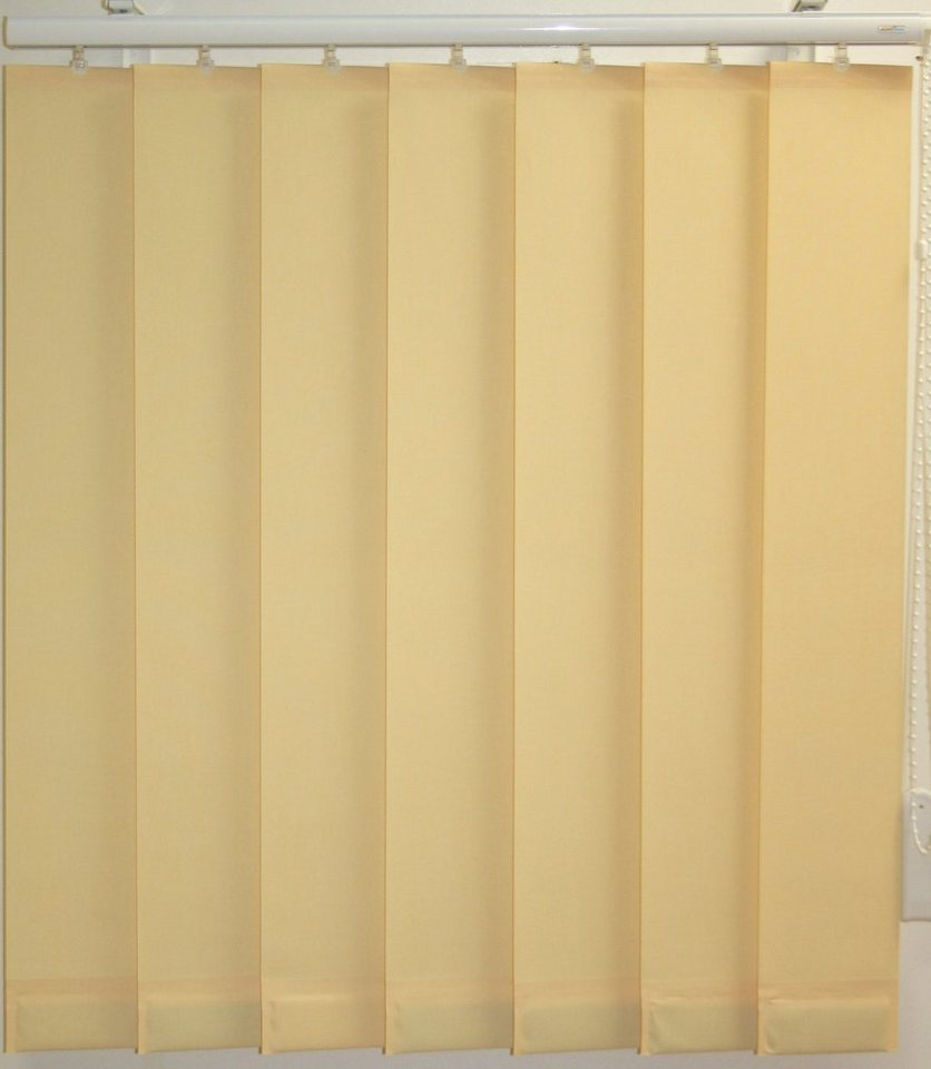 vertikal lamellenvorhang mit eingeschwei ten beschwerungsplatten sunlines ohne teilung online. Black Bedroom Furniture Sets. Home Design Ideas