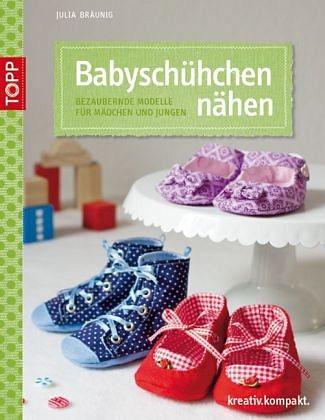 Broschiertes Buch »Babyschühchen nähen«
