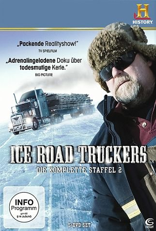 DVD »History Channel: Ice Road Truckers - Die...«