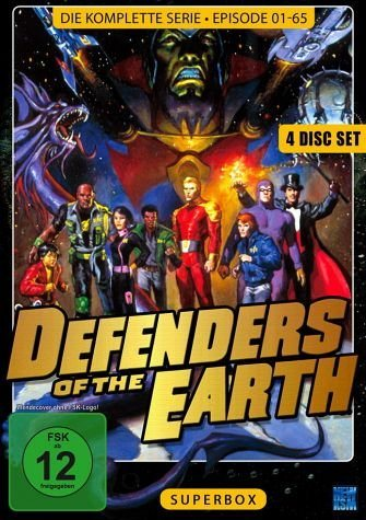 DVD »Defenders of the Earth (Superbox) (4 DVDs)«