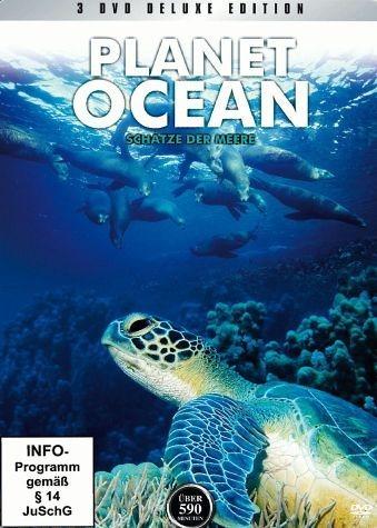 DVD »Planet Ocean - Schätze der Meere (Metallbox, 3...«
