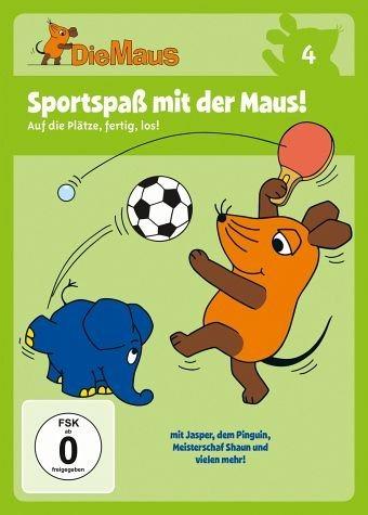 DVD »Die Maus 4 - Sportspaß mit der Maus!«