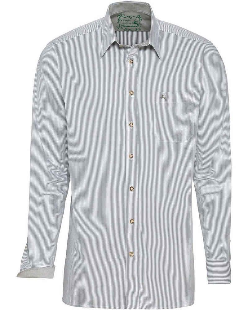 Hammerschmid Trachtenhemd »Langarm-Streifenhemd«