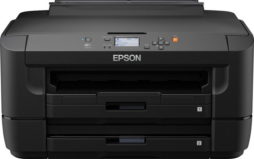 Epson WorkForce WF-7110DTW Drucker in schwarz