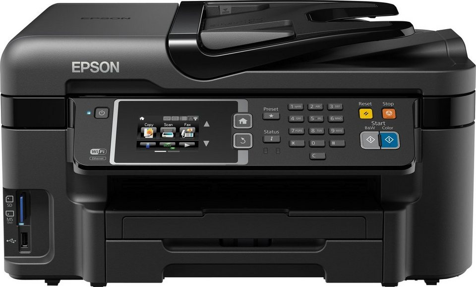 Epson WorkForce WF-3620DWF Multifunktionsdrucker in Schwarz