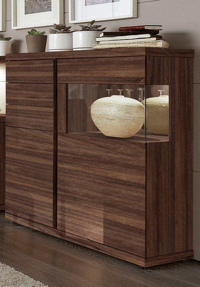 venjakob highboard v plus 2 t rig seitenverglasung rechts breite 115 cm online kaufen otto. Black Bedroom Furniture Sets. Home Design Ideas