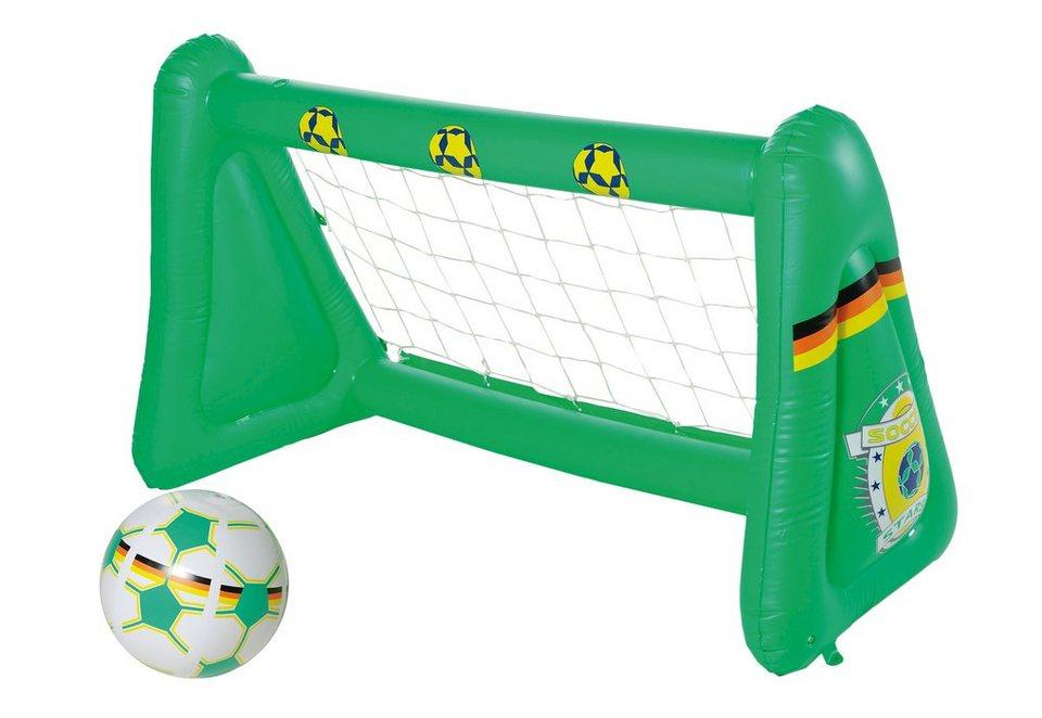 Fußballtor, aufblasbar, »Soccer Stars«, Royalbeach in grün