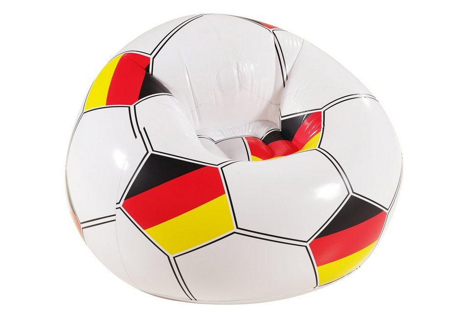 Fußballsessel, »Germany«, Royalbeach in weiß