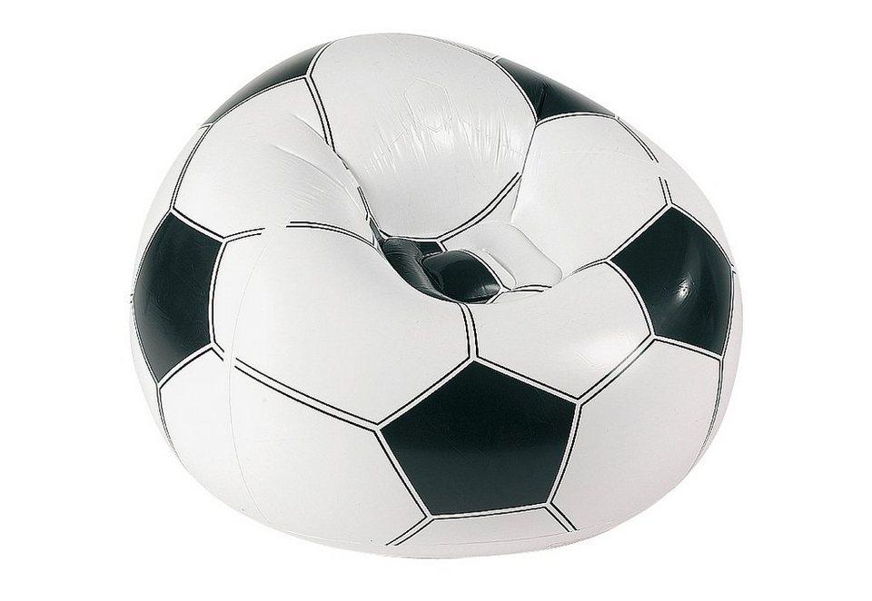Fußballsessel, Royalbeach in weiß