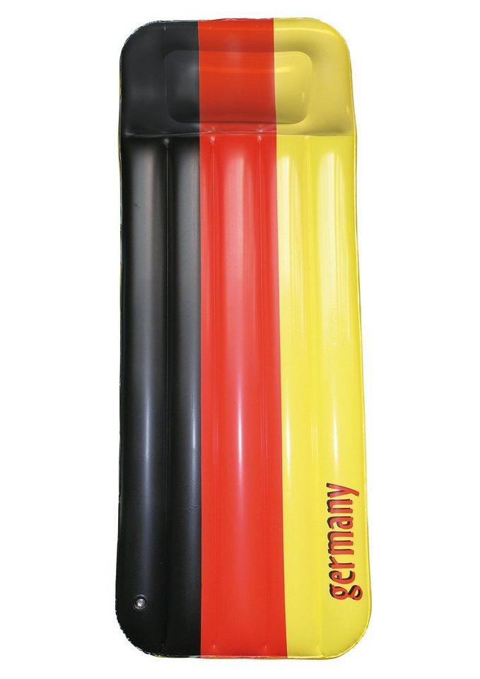 PVC-Boxmatratze, »Germany«, Royalbeach in schwarz