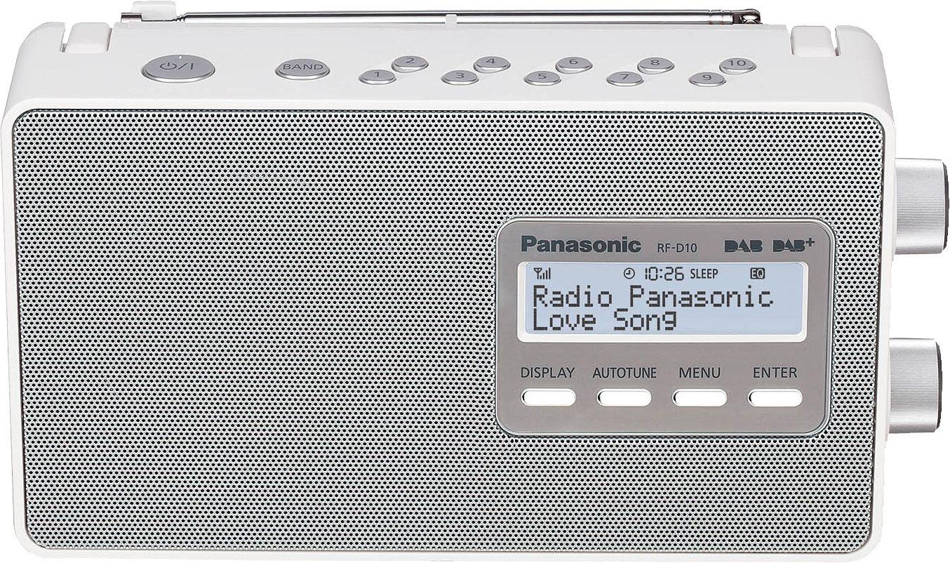 Panasonic RF-D10EG-W Tragbares Radio