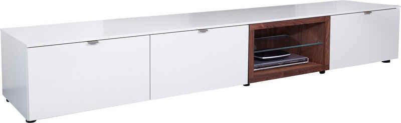 VENJAKOB Lowboard »Andiamo«, mit kontrastfarbener Absetzung, Breite 240 cm
