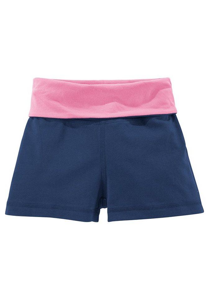 Venice Beach Shorts für Mädchen in Marine