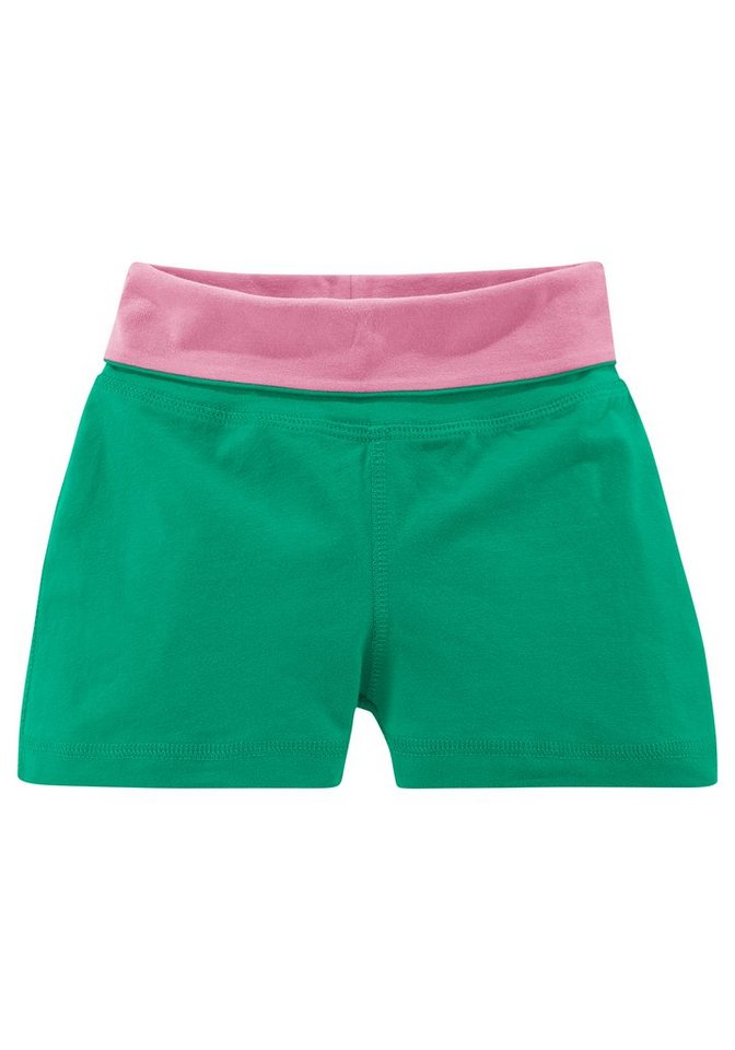 Venice Beach Shorts für Mädchen in Grün