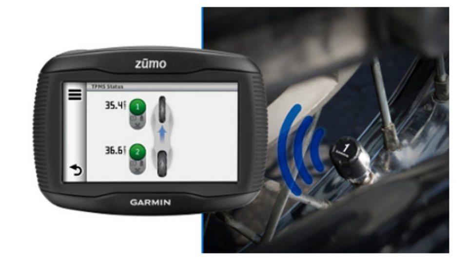 Garmin Motorradzubehör »Reifendruckkontrollsystem für zumo 390« in Schwarz
