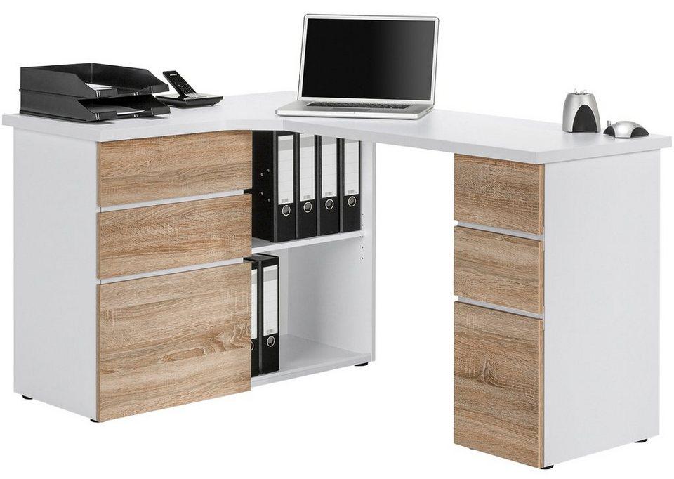 eckschreibtisch. Black Bedroom Furniture Sets. Home Design Ideas