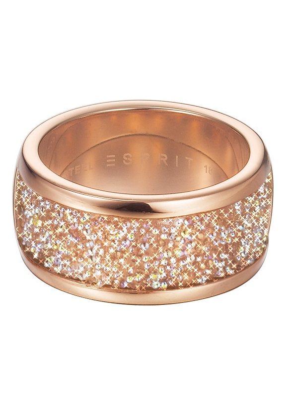 "ESPRIT Ring ""ESPRIT-JW50136 Rose, ESRG12247A"" in roségoldfarben"