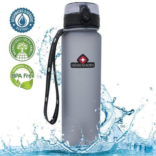 Höhenhorn Trinkflasche »Höhenhorn Urach Trinkflasche 1L Wasserflasche Auslaufsicher Sport BPA-Frei«