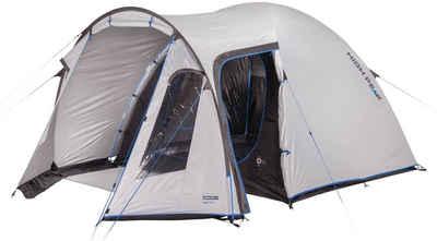 High Peak Kuppelzelt »Zelt Tessin 5.0«, Personen: 4 (mit Transporttasche)