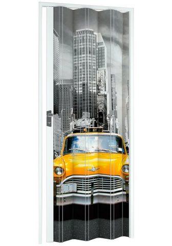 Falttür »NY-Skyline« BxH: 885x202 cm W...