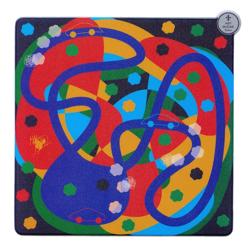 BODINO Mouse Pad »CRISS-CROSSROADS«