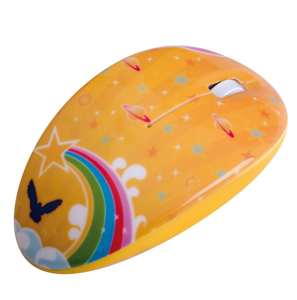 BODINO kabellose RF-Mouse »FREE SPACE«