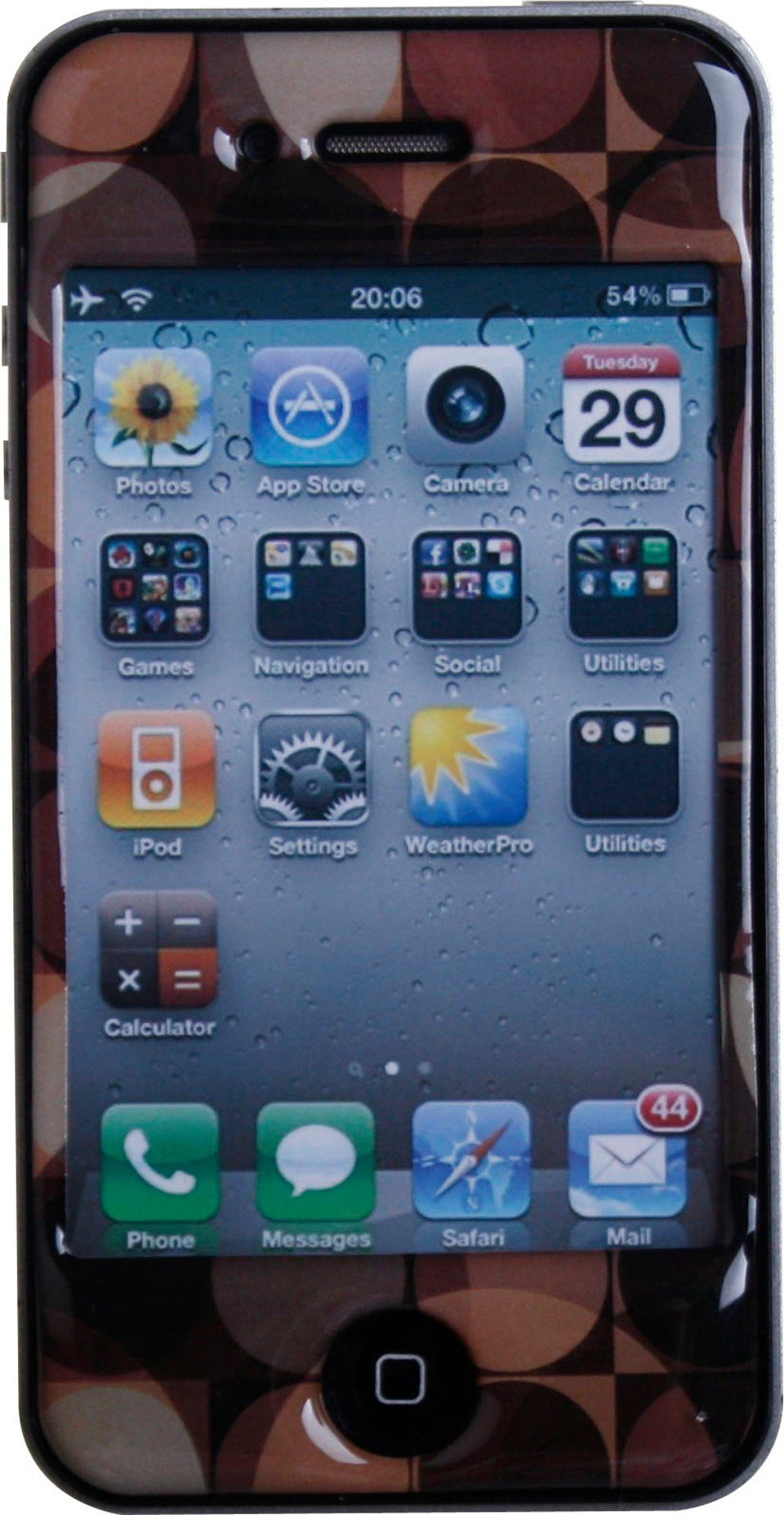 BODINO Schutzfolie »SuperSkin iPhone 4 FEEL RETRO«