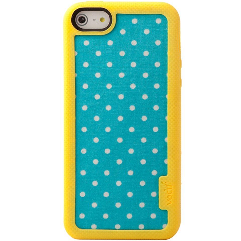 VACII Premium »iPhone5/5S Hülle, Echtstoff Rückseite - Classic«