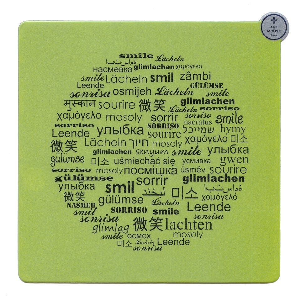 BODINO Mouse Pad »SMILE«
