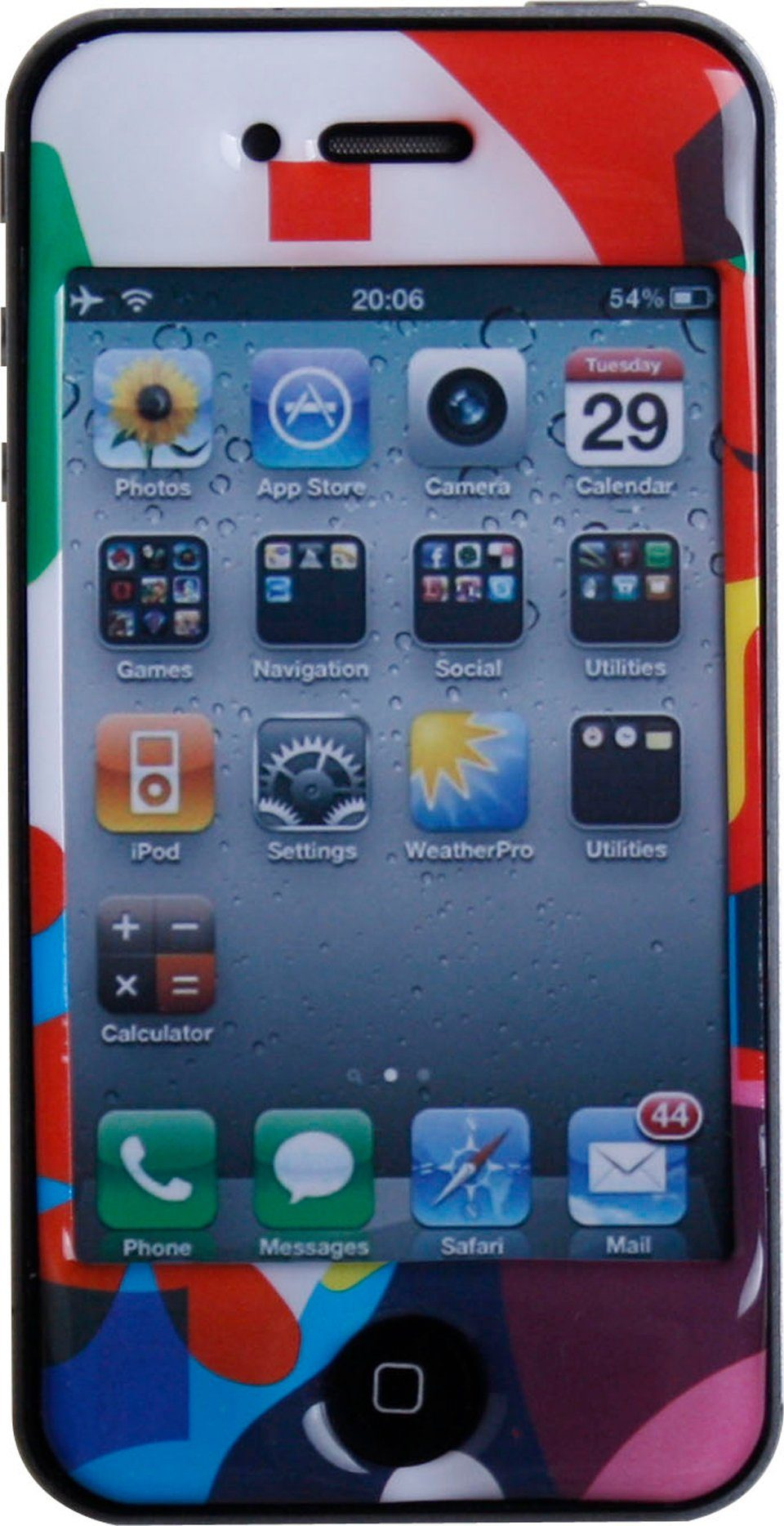 BODINO Schutzfolie »SuperSkin iPhone 4 COLORLOVER«