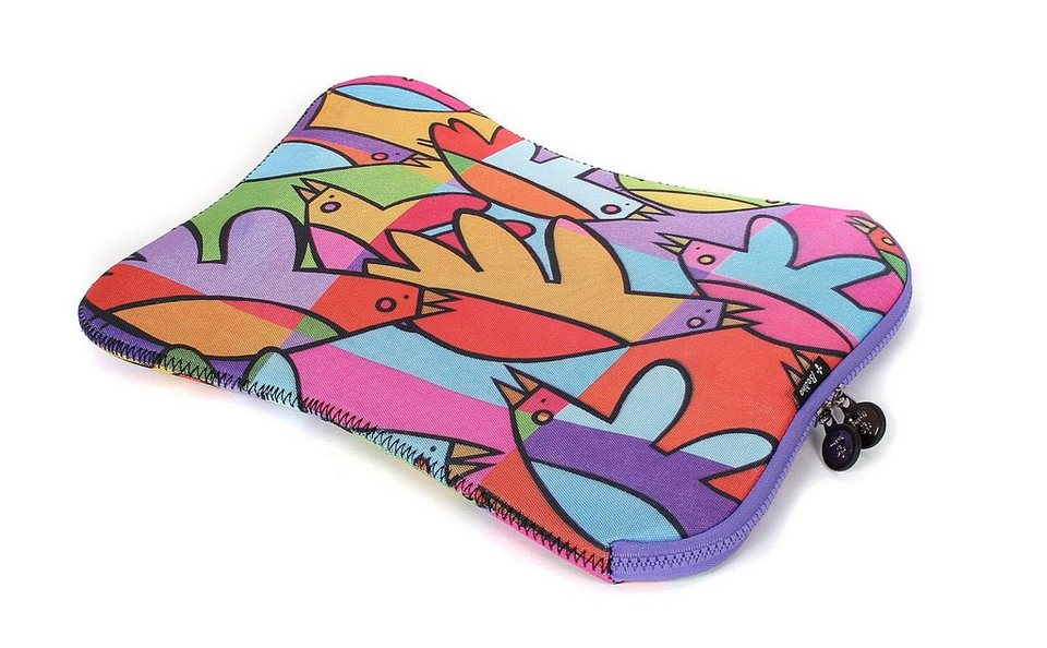 BODINO Notebook-Sleeve »bis 13,3 Zoll COOL BIRDS«