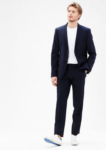 s.Oliver BLACK LABEL Cosimo Slim: Anzughose aus Schurwolle