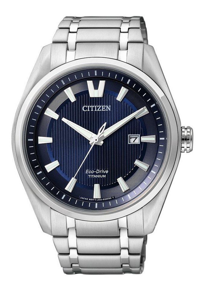"Citizen, Armbanduhr, ""AW1240-57L"" in silberfarben"