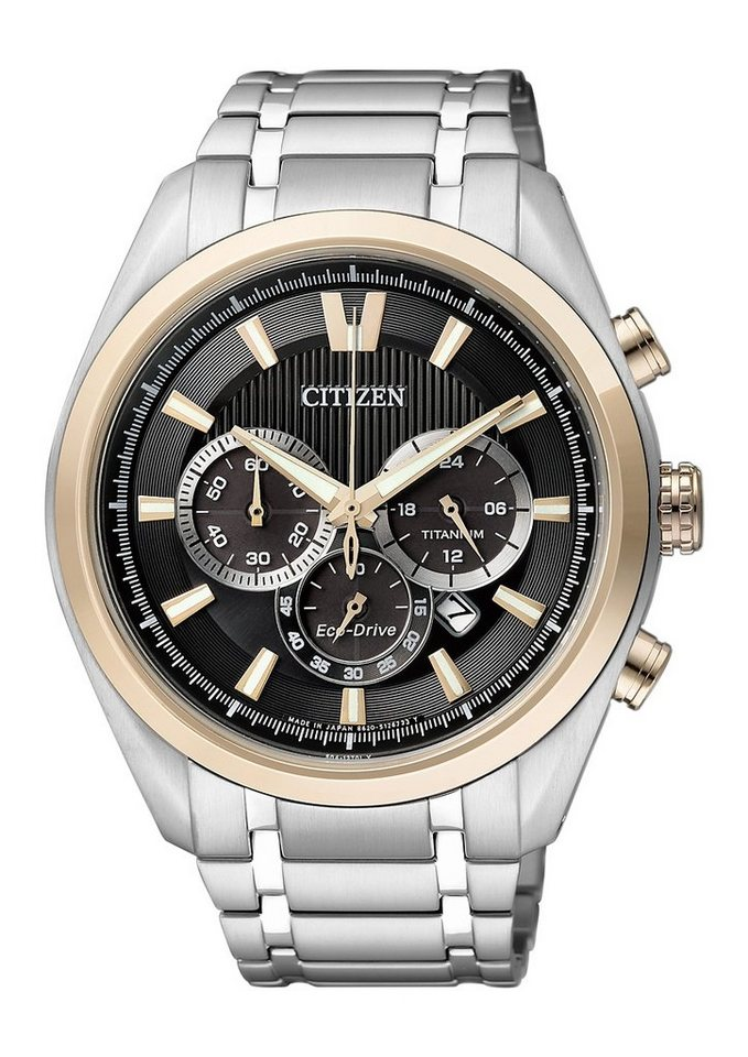 "Citizen, Chronograph, ""CA4014-57E"" in silberfarben/schwarz"