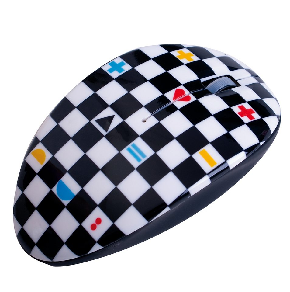 BODINO kabellose RF-Mouse »CHECKMATE«