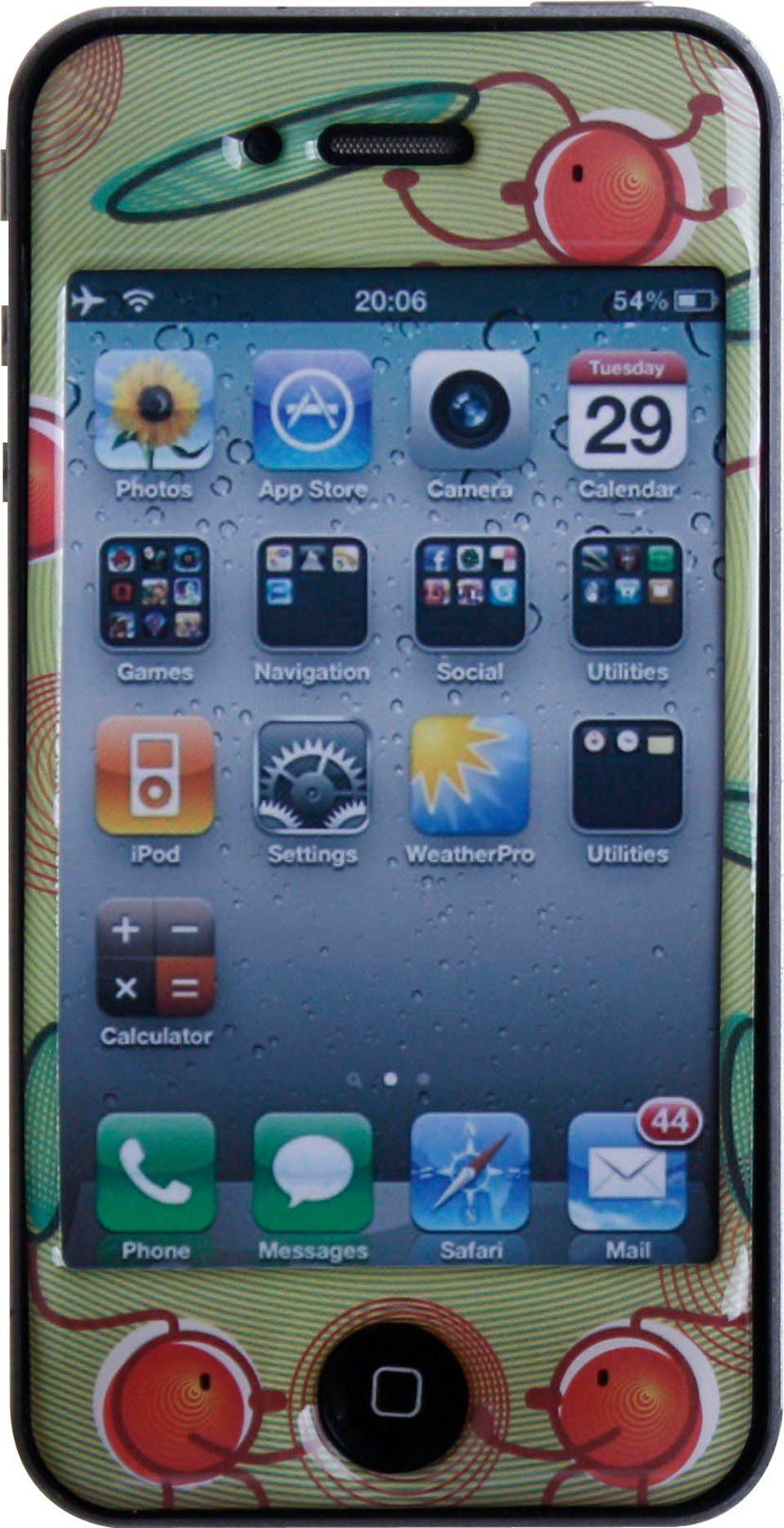BODINO Schutzfolie »SuperSkin iPhone 4 CHERRY HOP«