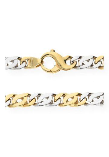 JuwelmaLux Collier »Collier Gelbgold und 585er Weißgold 14 Karat«