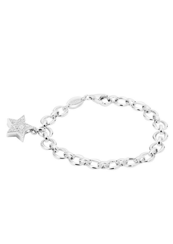 Armband, »JFS00227«, Fossil in Silber 925