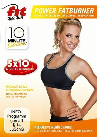 DVD »Fit for Fun - 10 Minute Solution: Power Fatburner«