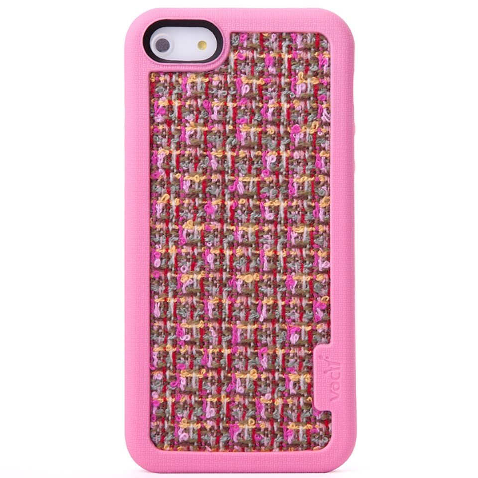 VACII Premium »iPhone5/5S Hülle, Echtstoff - Couture Pink«