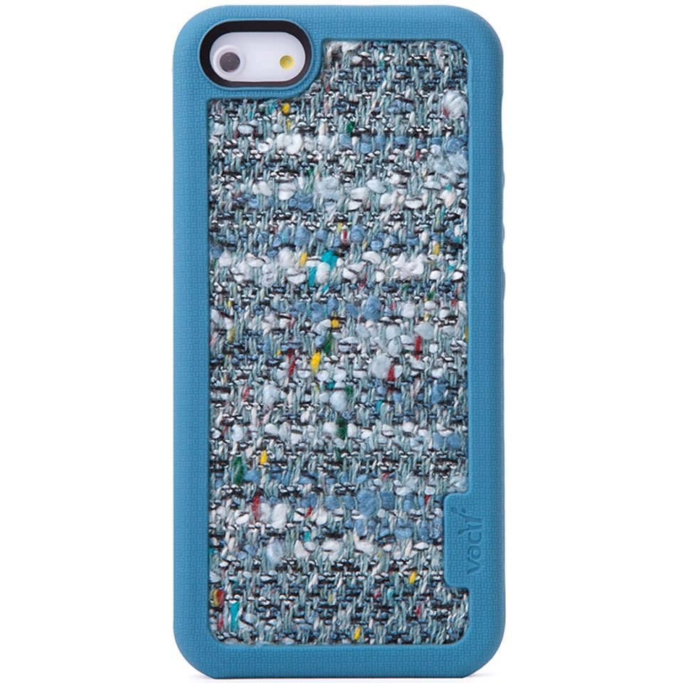 VACII Premium »iPhone5/5S Hülle, Echtstoff - Couture Blue«