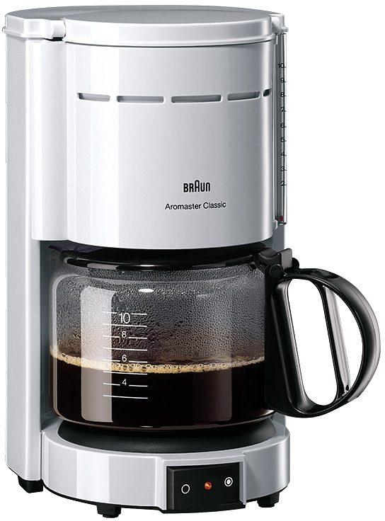 Braun Kaffeemaschine »Aromaster Classic KF 47/1«, für 8-10 Tassen, weiß