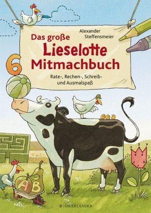 Broschiertes Buch »Das große Lieselotte Mitmachbuch«