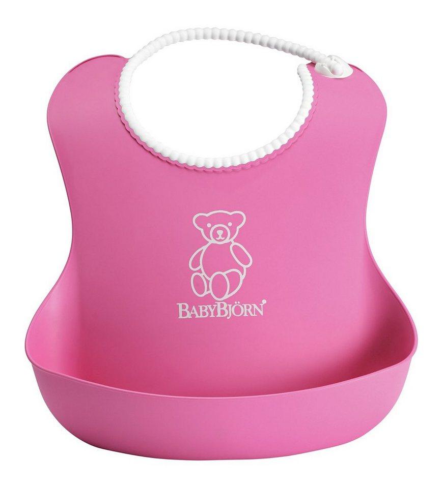 BabyBjörn Lätzchen mit Auffangschale, Pink in pink